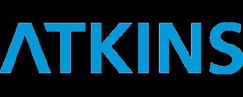 atkins logo in blue