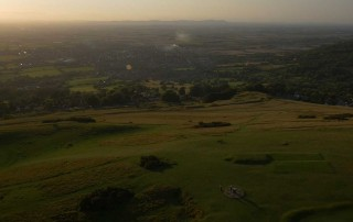 cotswolds at the magic hour