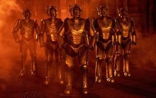 Cybermen in the smoke