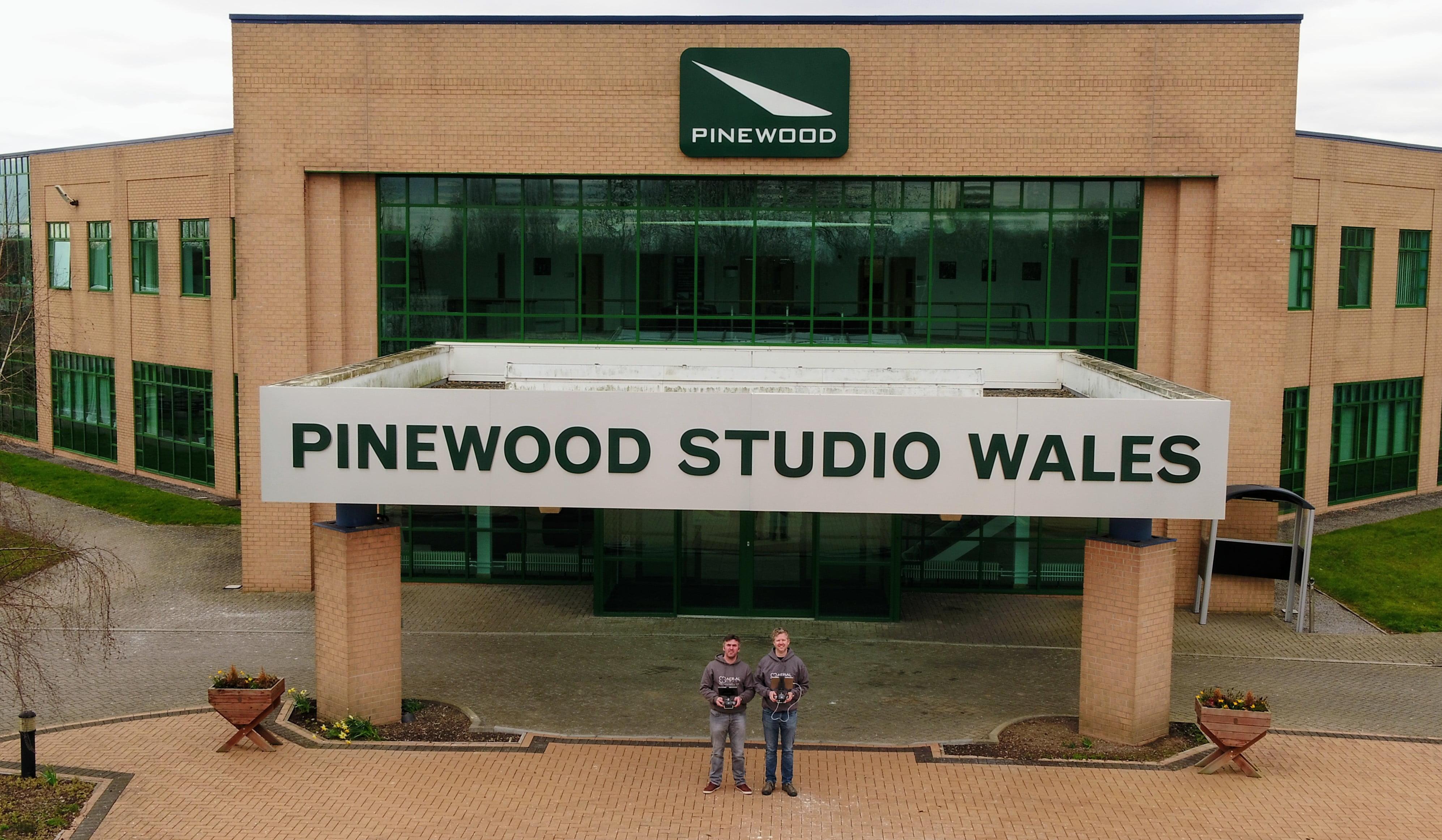 Aerial Craft at Pinewood Studios Wales.